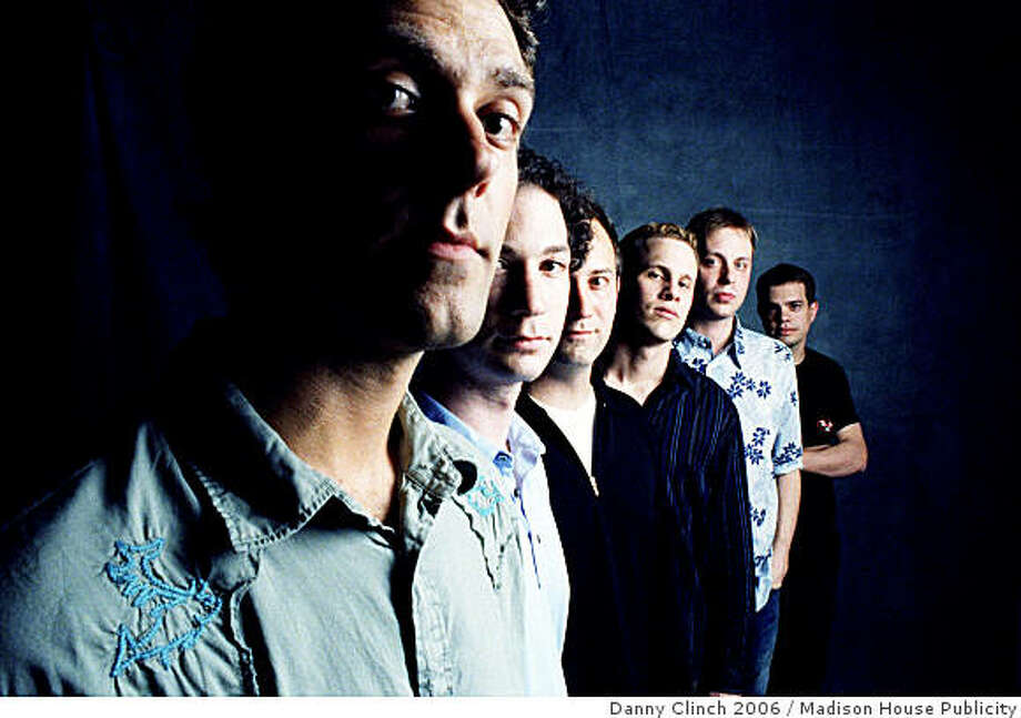 The band Umphrey's McGee: Photo: Danny Clinch 2006, Madison House Publicity