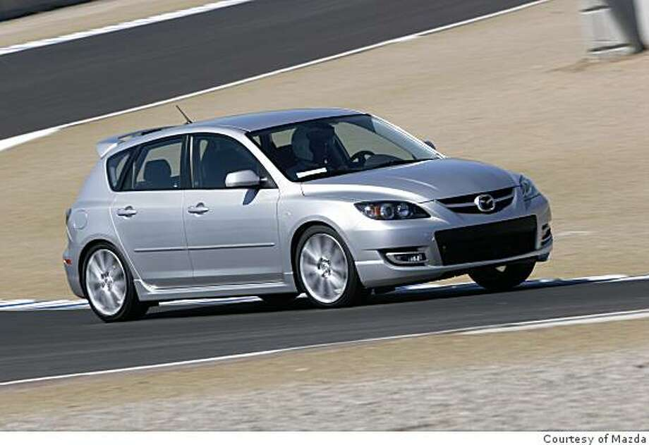 2008 MazdaSpeed3 Grand Touring Photo: Courtesy Of Mazda