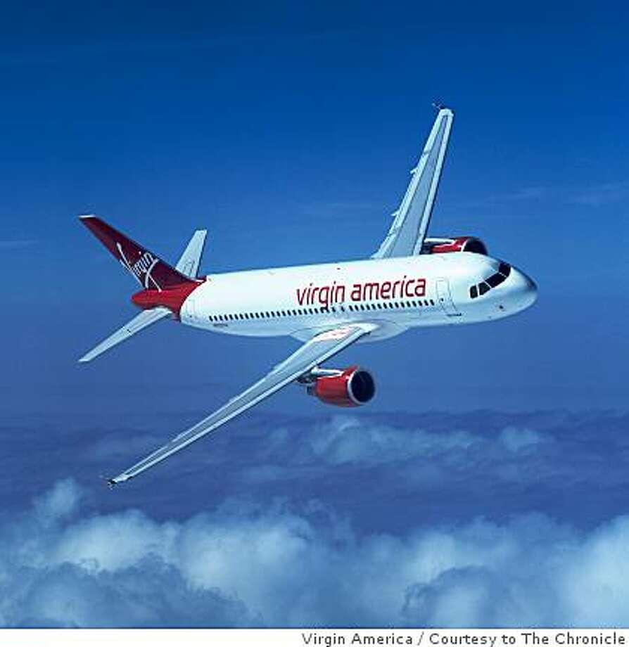 Virgin America Photo: Virgin America, Courtesy To The Chronicle