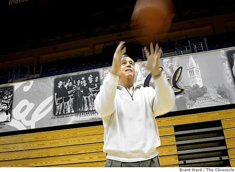 Mike Montgomery inside Haas Pavilion, his new home court. Mike Montgomery begins his first season as coach of the UC Berkeley men's basketball team. He is pictured on campus Monday, October 27, 2008. Photo: Brant Ward, The Chronicle