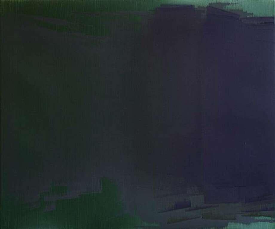 """CR-625"" (2008) oil on linen by Nancy Haynes   20"" x 26"" Photo: Courtesy, George Lawson Gallery, S.F."
