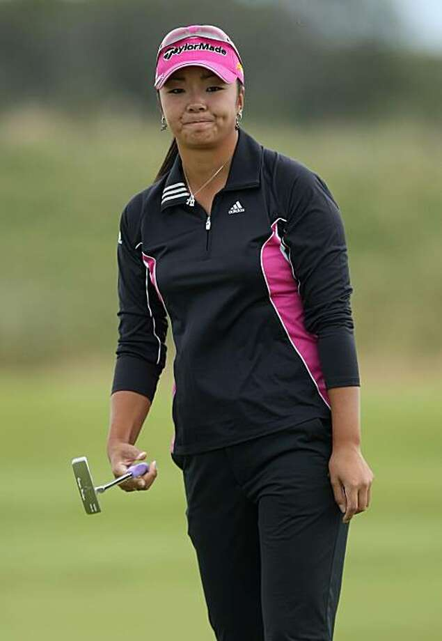 LYTHAM ST ANNES, ENGLAND - AUGUST 01:  Yuko Mitsuka of Japan reacts to a putt during the third round of the 2009 Ricoh Women's British Open Championship held at Royal Lytham St Annes Golf Club, on August 1, 2009 in Lytham St Annes, England.  (Photo by David Cannon/Getty Images) Photo: David Cannon, Getty Images