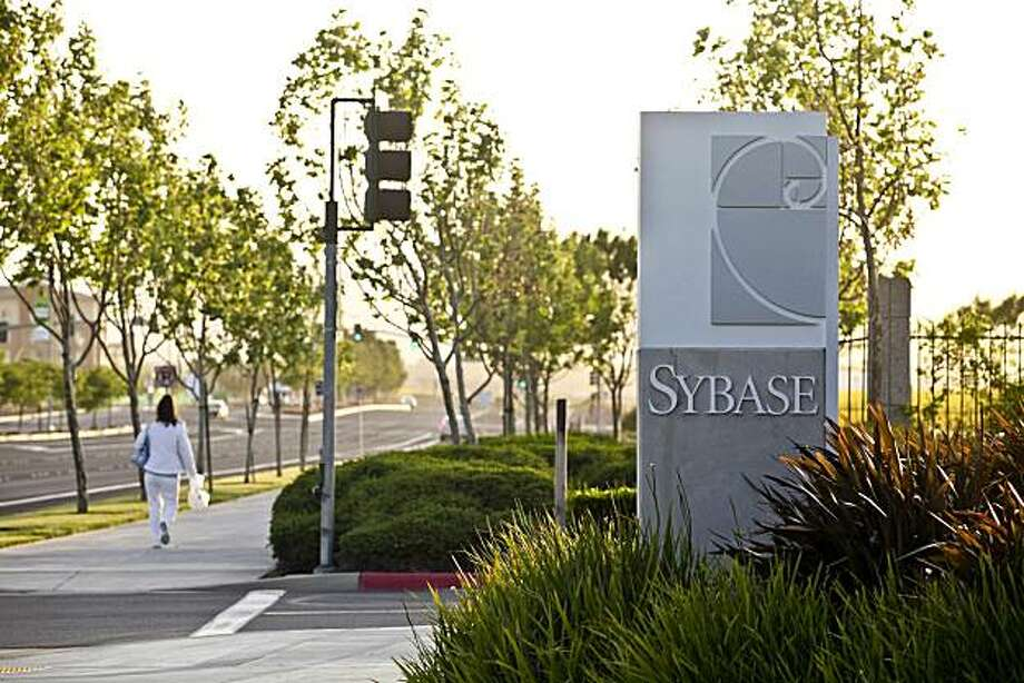 The headquarters of Sybase Inc. stand in Dublin, California, U.S., on Wednesday, May 12, 2010. SAP AG, the world's biggest maker of business-management software, agreed to acquire Sybase Inc. in a transaction valued at $5.8 billion to help it fend off competition from Oracle Corp. Photographer: Ryan Anson/Bloomberg Photo: Ryan Anson, Bloomberg