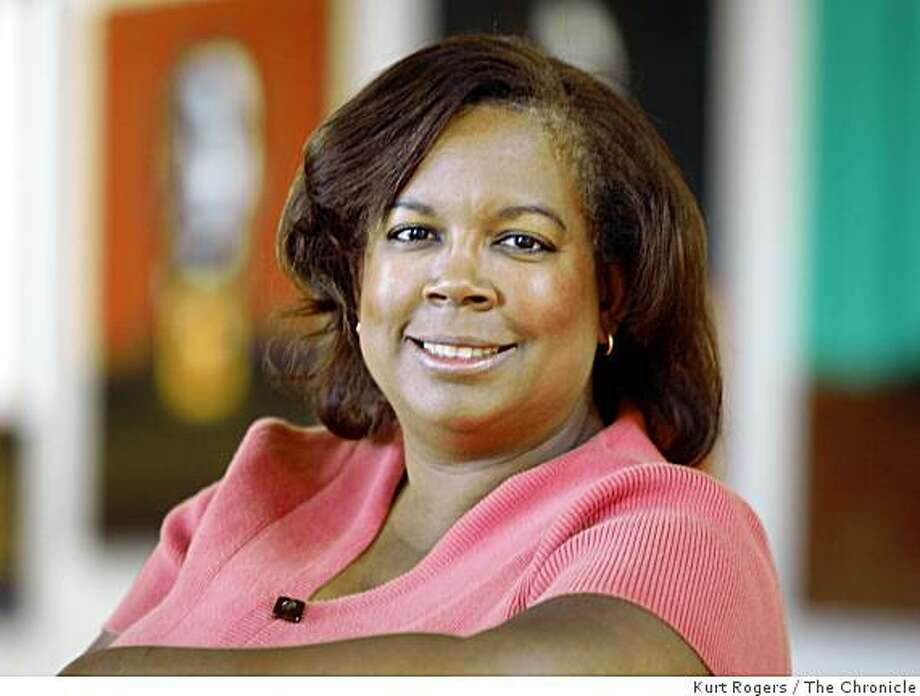 Victoria Evans Erville, the artistic director of African-American Shakespeare Co. at the Buriel Clay Theatre in San Francisco , Calif on Tuesday Oct. 14,  2008. Photo: Kurt Rogers, The Chronicle