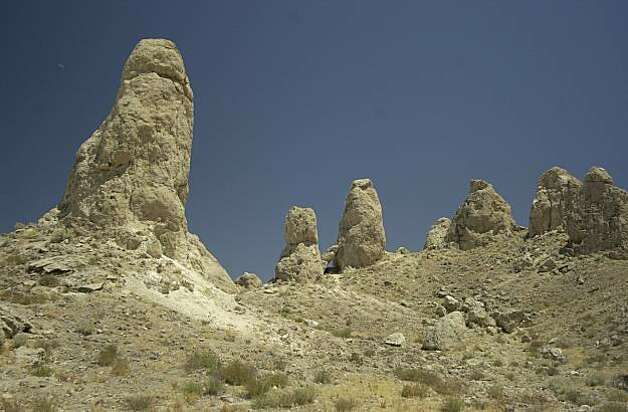 Trona Pinnacles, near Trona, Calif. Photo: Spud Hilton, The Chronicle