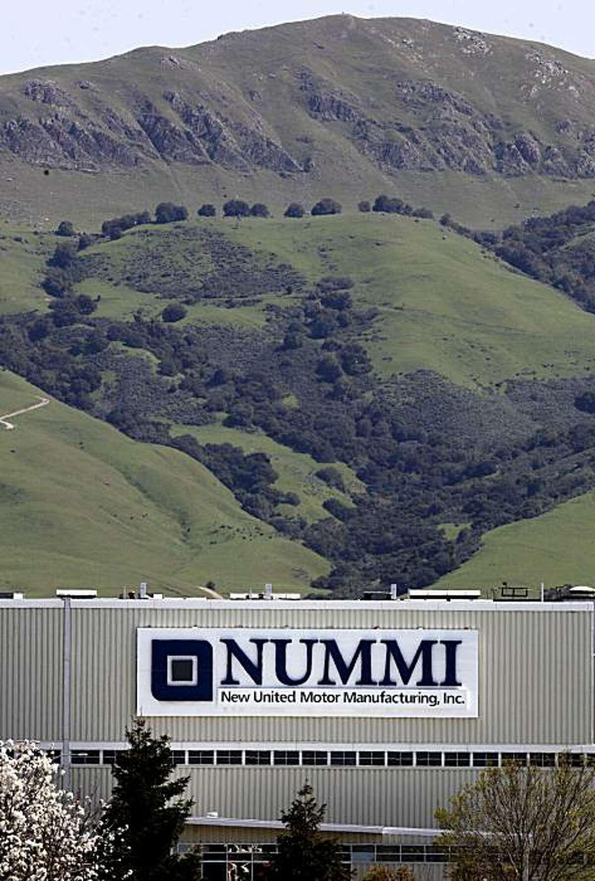 The New United Motor Manufacturing Incorporated plant, on Friday Mar. 26, 2010 in Fremont, Calif. The NUMMI plant is scheduled to cease operations and shut down on April 1.