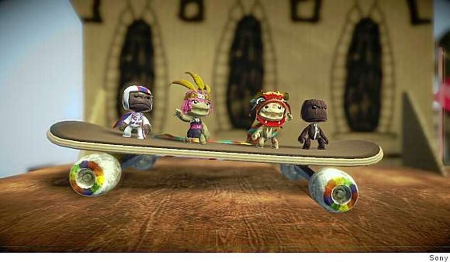 All the sackboy characters in Little Big Planet can be customized. Photo: Sony