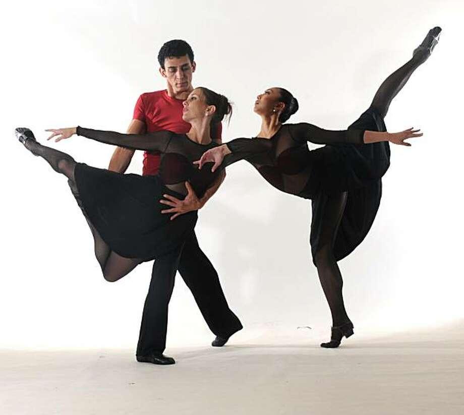 "David Fonnegra, Erika Johnson and Mayo Sugano in Kelly Teo's ""Incitations"" (one name credit is correct) Photo: Ashraf"