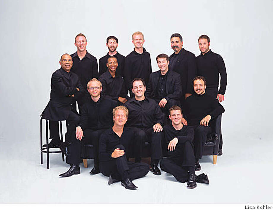"Chanticleer, the acclaimed ""Orchestra of Voices,"" 12-man a cappella singing ensemble. Photo: Lisa Kohler"