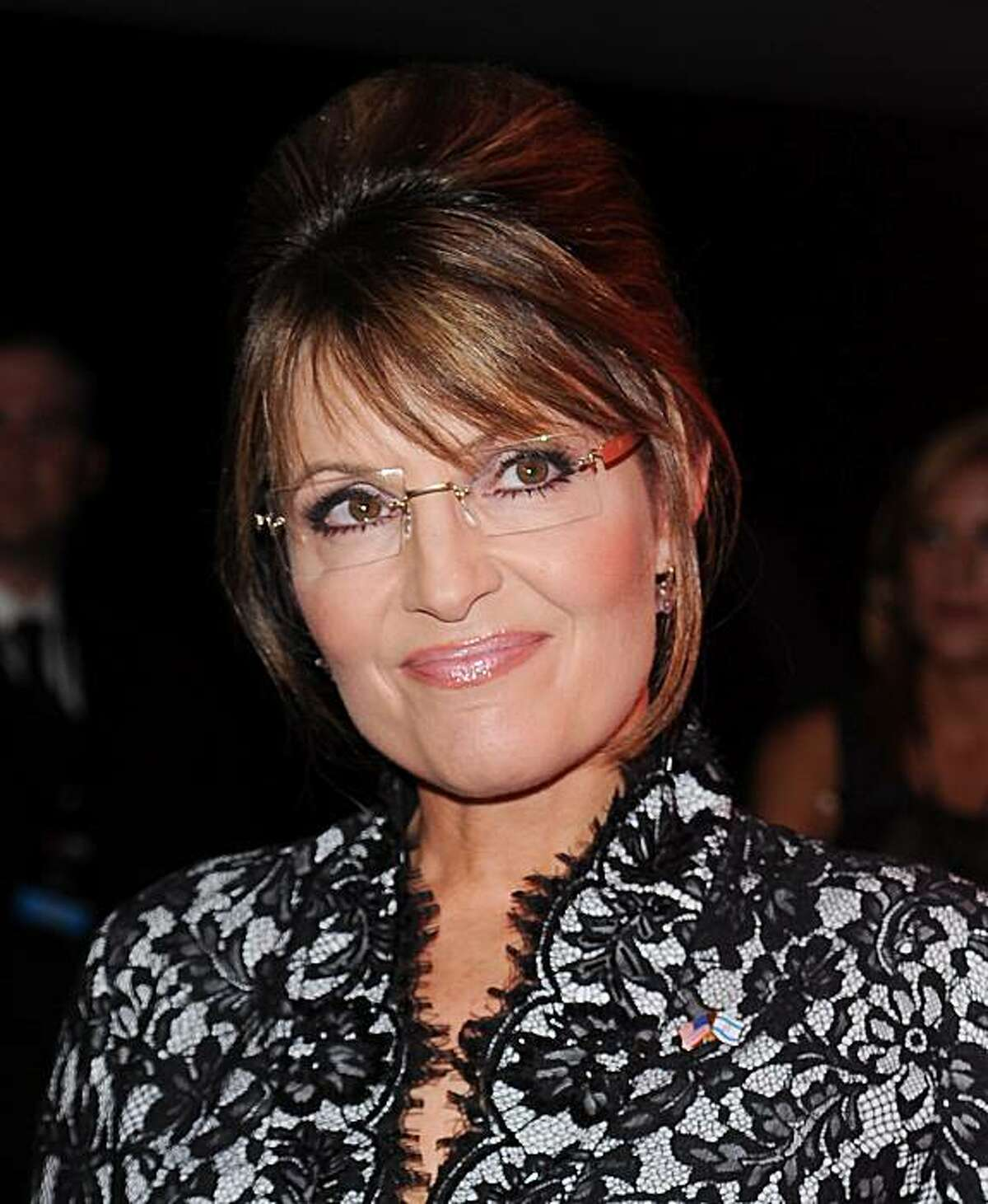 Sarah Palin attends the TIME 100 gala celebrating the 100 most influential people, at the Time Warner Center, Tuesday, May 4, 2010 in New York.