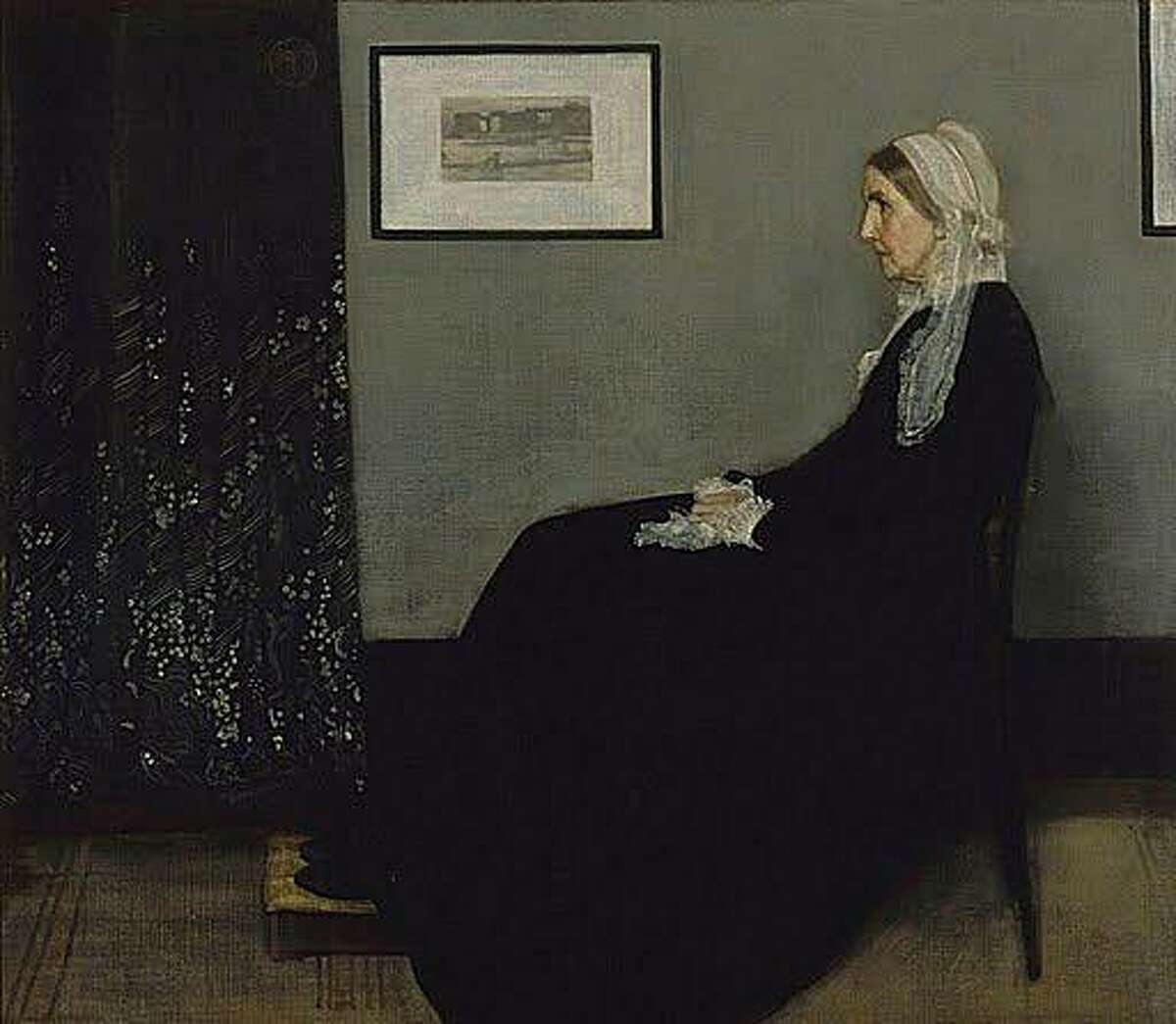 Arrangement in Gray and Black No. 1; Portrait of the Artist's Mother. 1871. James Abbott McNeill Whistler (1834-1903). Oil on canvas, 56 3/4 x 64 inches.  RMN (Musée d'Orsay)/Hervé Lewandowski