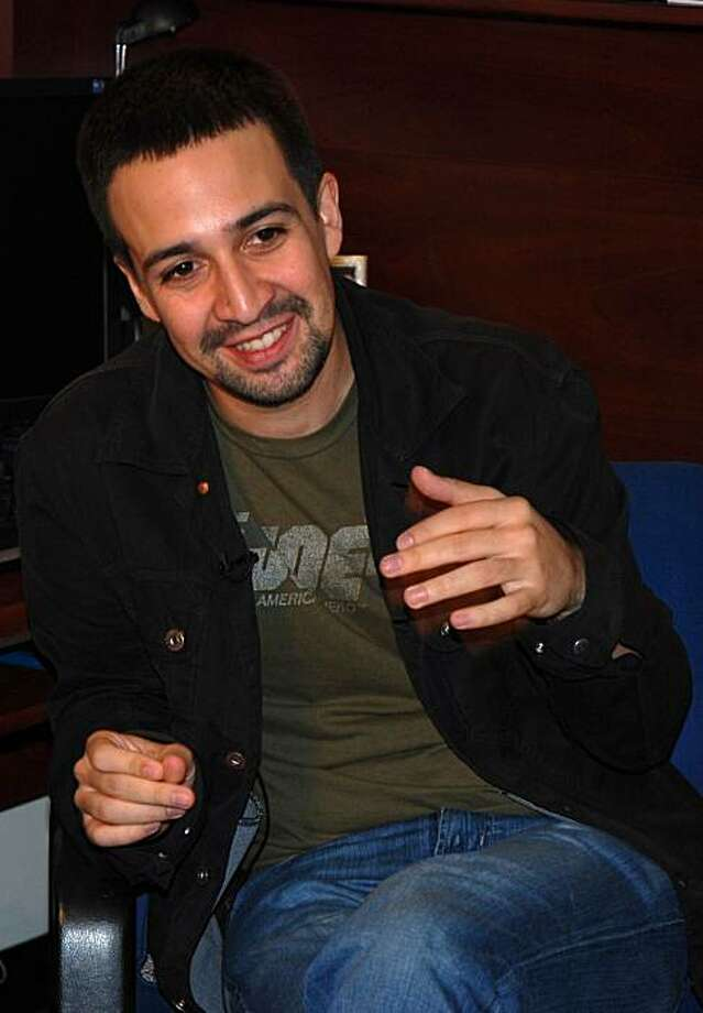 "Lin-Manuel Miranda, creator of the musical ""In the Heights."" Photo: Cece Hugo"