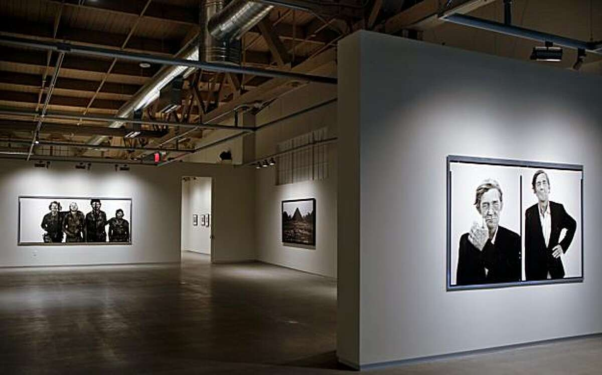 Andy Pilara has opened the largest space for photography in the country on Pier 24 part of which is seen on Friday, May 7, 2010 in San Francisco, Calif.