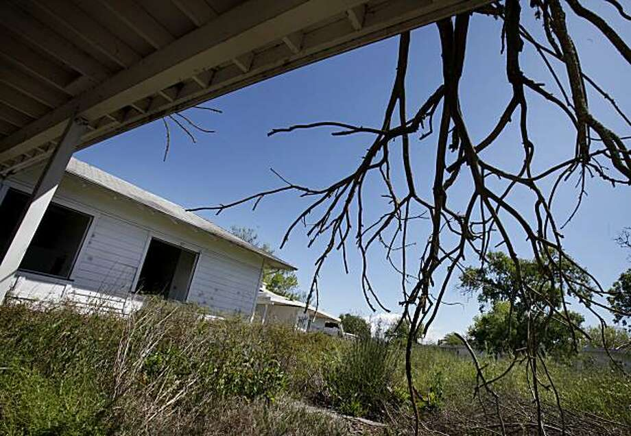 The old Navy housing on Skaggs Island has been deserted since 1994. Skaggs Island, Calif., off highway 37 in Sonoma County, is a former Navy communications base that is now being restored to wetlands April 29, 2010. Photo: Brant Ward, The Chronicle