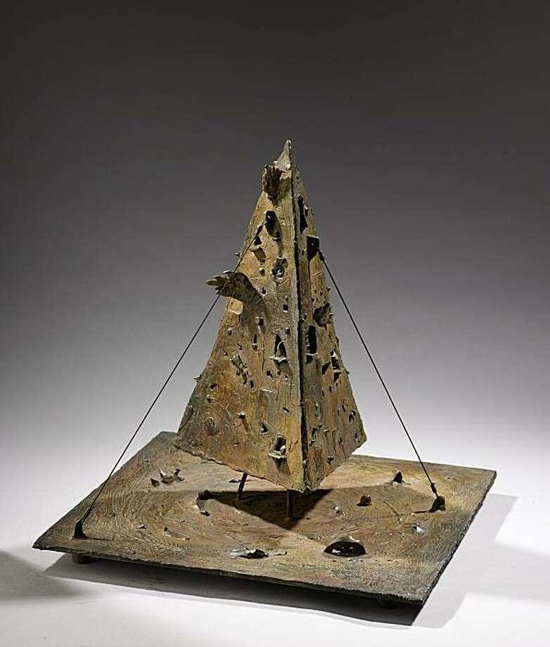 Bruce Hasson's Vesuvius bronze study (2009) Photo: Courtesy Bruce Hasson