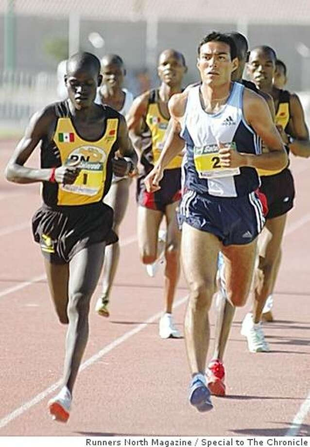 Kenyan and Mexican runners competing at a 5- kilometer race in Torreon, Mexico in 2005. Photo: Runners North Magazine, Special To The Chronicle