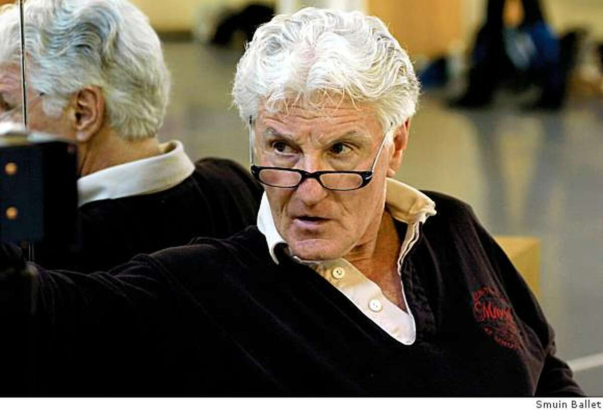Michael Smuin at work. The director of Smuin Ballet died in April 2007.