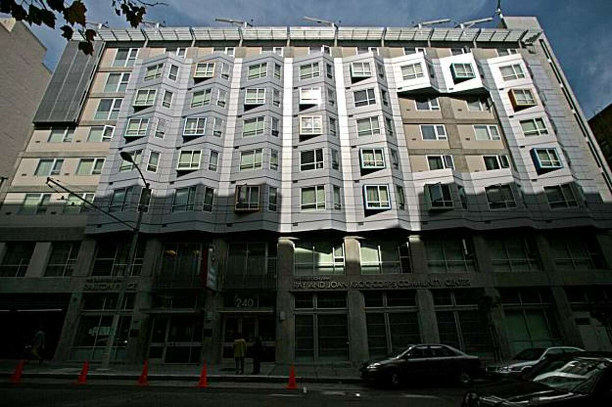 The Salvation Army's new building at 240 Turk St. in San Francisco provides housing and services to residents, but it also makes its facilities available to schools. Additionally the public can use its fitness equipment for a modest fee.