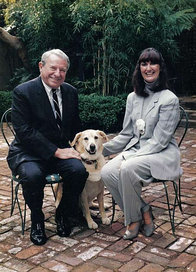 Ron Fimrite, former sports writer for The Chronicle and Sports Illustrated, passed away on Friday, April 30, 2010. He is shown with his wife, Linda Baker Fimrite who died last year. Photo: Courtesy Of Fimrite Family