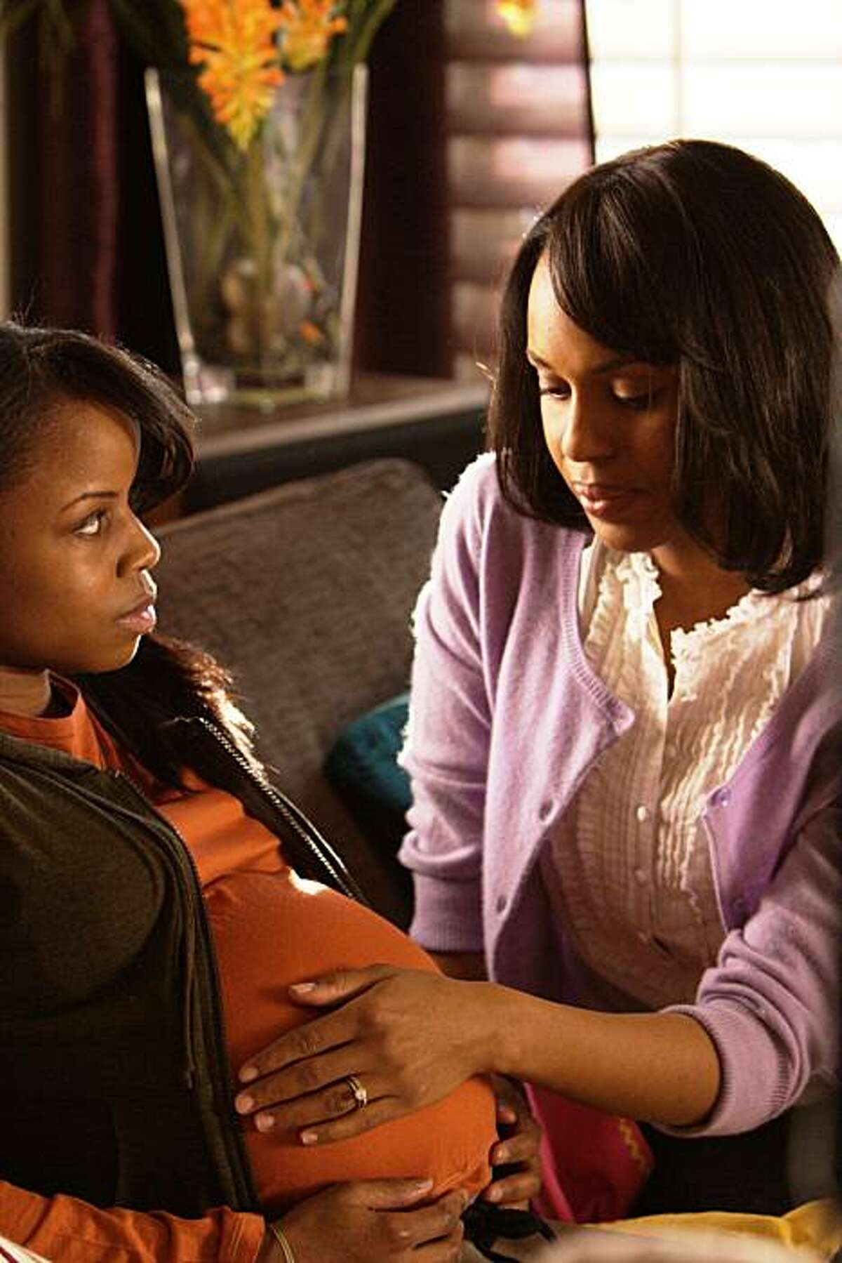 """Shareeka Epps and Kerry Washington in """"Mother and Child."""""""