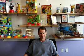 Danny Grossman poses for a portrait on Monday, April 26, 2010 in San Francisco, Calif. He is the CEO of Wild Planet Toys, which makes spy gear for kids along with other toys designed to spark their imagination and are not sexist or violent.