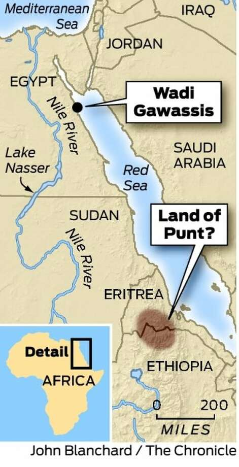 Scientists Zero In On Ancient Land Of Punt Sfgate