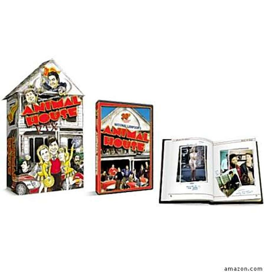 dvd package: ANIMAL HOUSE 30TH ANNIVERSARY EDITION GIFT SET Photo: Amazon.com