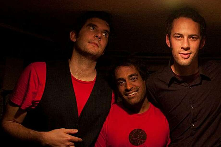 Boy in the Bubble (From left): Josh Seidenfeld, vocals and guitar; Satish Pillai, keys and vocals; Will Crew, bass Photo: Sol Gutierrez