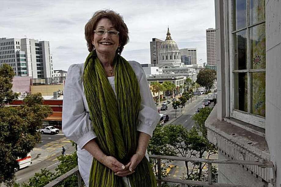 Theresa Sparks, who was once a man and in now a transgender woman,  stands outside her home overlooking City Hall, Tuesday May 5, 2010, in San Francisco, Calif. Sparks grew up as a man and always knew she was in the wrong body. She has three grown children who still call her dad. Photo: Lacy Atkins, The Chronicle