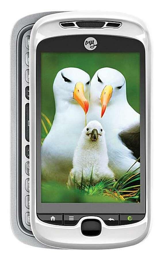 MyTouch 3G Slide phone by TMobile Photo: Tmobile.com