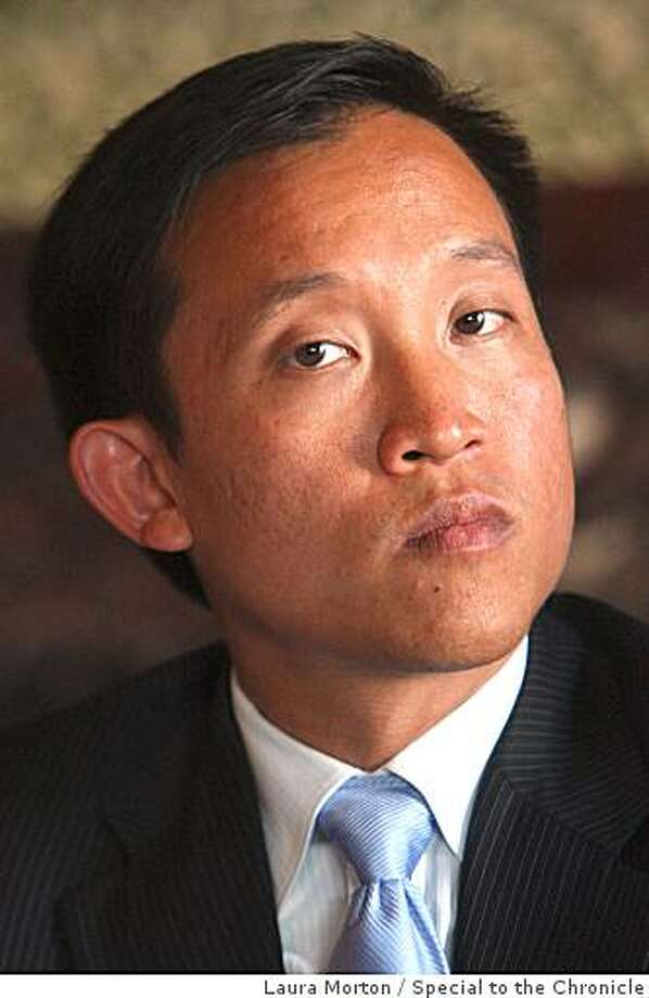 David Chiu participates in a candidates forum for the Third District of San FranciscoÕs Board of Supervisors at the University Club in San Francisco, Calif., on Wednesday, Sept. 3, 2008. Photo: Laura Morton, Special To The Chronicle