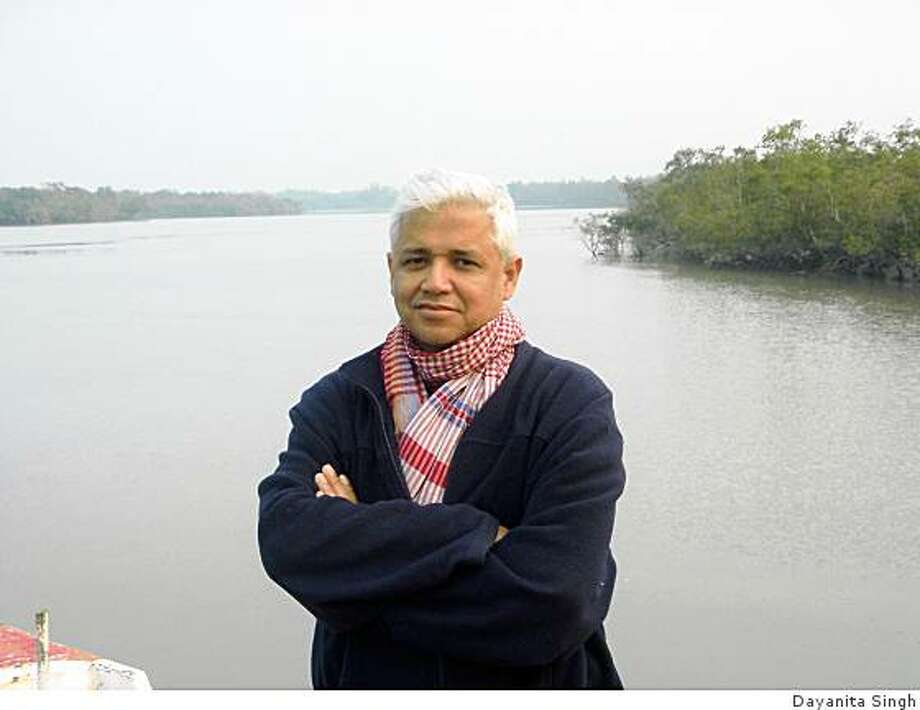 "Amitav Ghosh, author of ""Sea of Poppies"" / Credit: Dayanita Singh / FOR USE WITH BOOK REVIEW ONLY Photo: Dayanita Singh"
