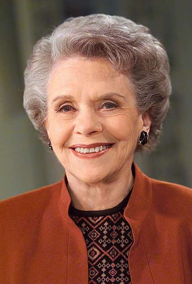 """In this undated publicity image provided by TeleNext Media, actress Helen Wagner is shown. Wagner, who played mild-mannered Nancy Hughes on the CBS soap opera """"As the World Turns"""" for more than a half-century and spoke its first words, died Saturday, May 1, 2010. She was 91. (AP Photo/TeleNext Media, Lorenzo Bevilaqua) NO SALES Photo: AP"""