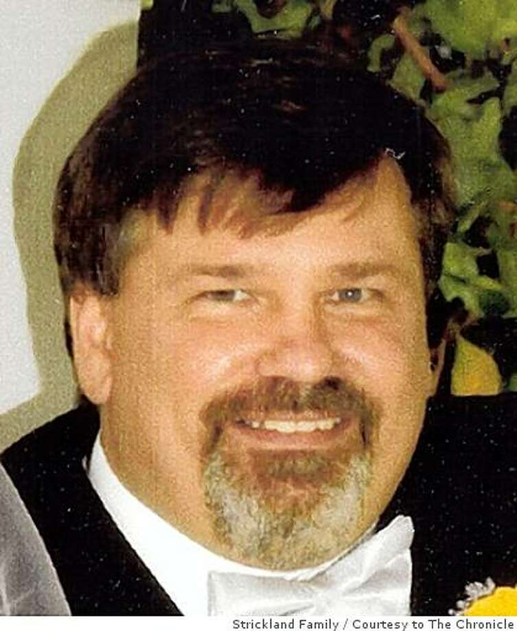 James Strickland, a track inspector for BART, was struck and killed by a train on October 14, 2008 in Concord, Calif. The train was traveling in the opposite direction than it usually would and hit Strickland from behind. Photo: Strickland Family, Courtesy To The Chronicle
