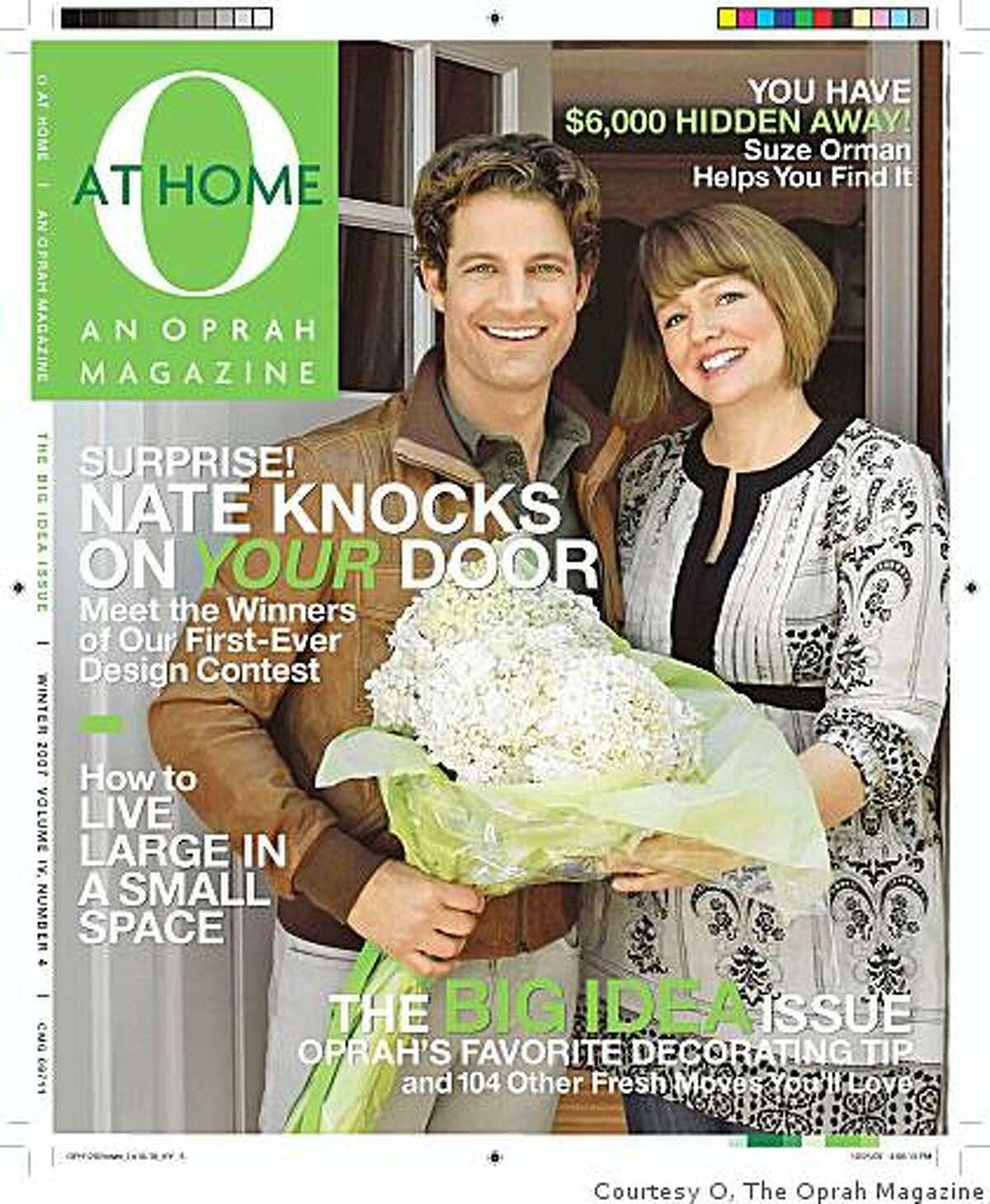 O at Home magazine cover