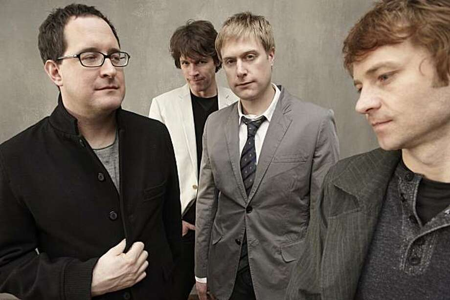 "The Hold Steady, now mustache-free, releases its new album ""Heaven Is Whenever"" this week. Photo: Mark Seliger"