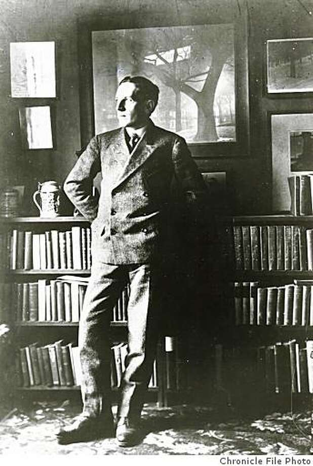 """wayback19_PH.jpg Date unknown - Author Upton Sinclair visited San Francisco in 1908 after writing """"The Jungle.""""Photographer unknown/Chronicle File Photo Photo: Chronicle File Photo"""