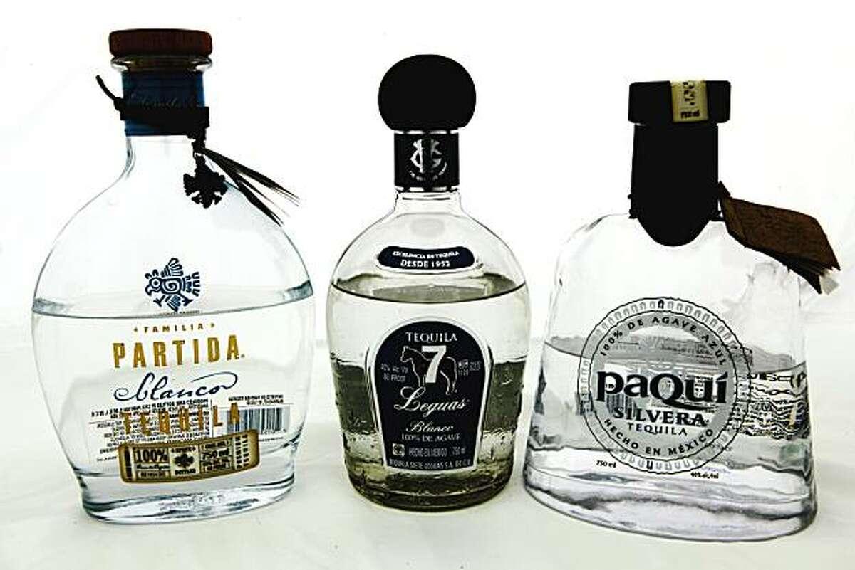 Familia Partida Blanco, Lequas Blanco, and Paqui Silvera Tequila