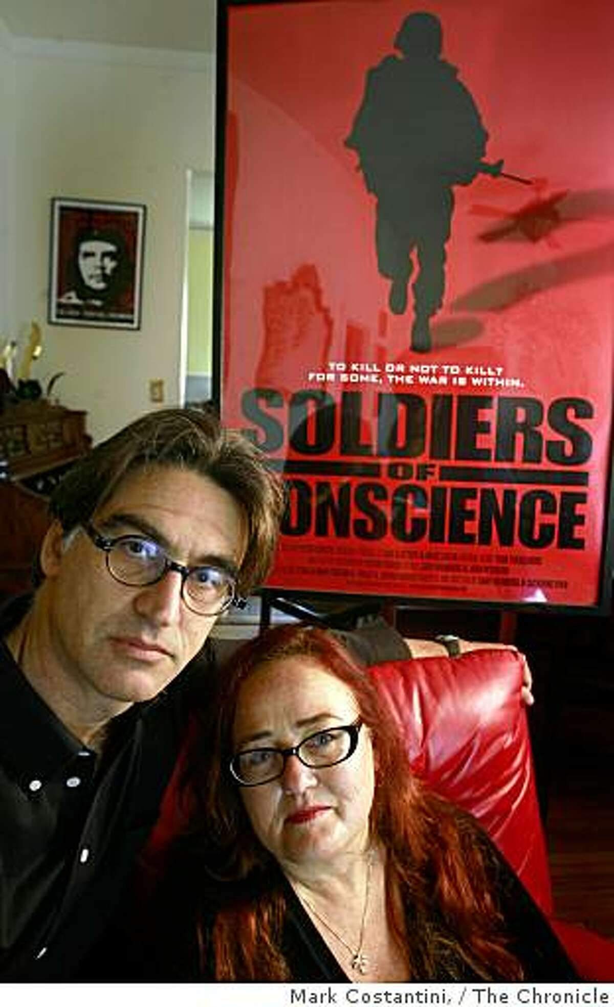 Gary Weimberg(left) and Catherine Ryan, who have been making award-winning documentaries for over 20 years pose in Berkeley, Calif., on Wednesday, October 8, 2008