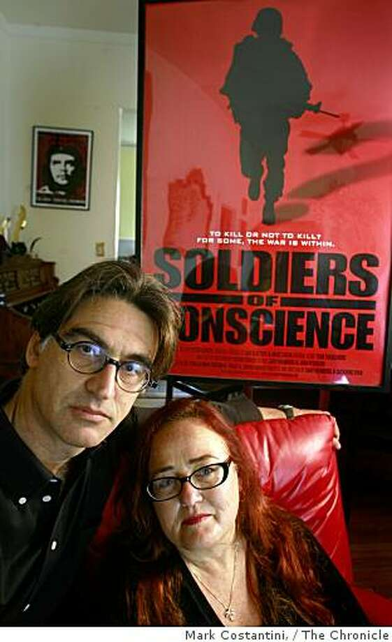 Gary Weimberg(left) and Catherine Ryan, who have been making award-winning documentaries for over 20 years pose in Berkeley, Calif., on Wednesday, October  8, 2008 Photo: Mark Costantini,, The Chronicle