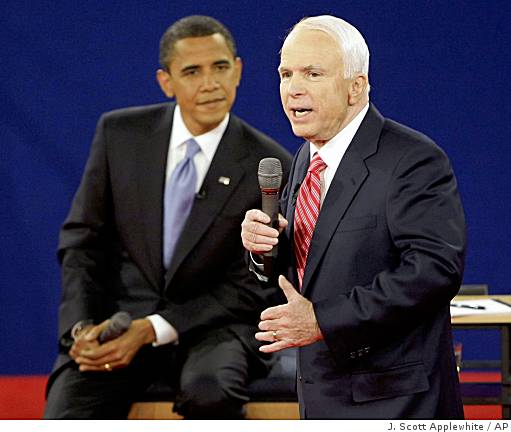obama and mccain essay For this theme to be effective, obama had to link mccain to the failures of the  bush administration the link was based in part on the simple fact that mccain  was.