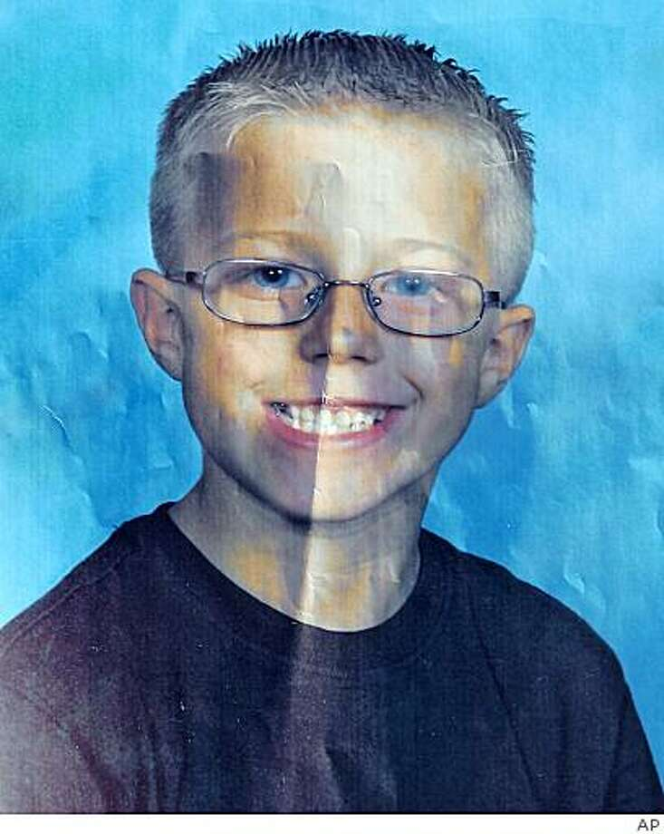 This undated picture made available by police shows six-year-old Cole Puffinburger. Las Vegas police said the boy was kidnapped at gunpoint from his northeast valley home Wednesday morning, Oct. 15, 2008. Puffinburger, a first-grader at Stanford Elementary School, was taken by three Hispanic men after they tied up his mother and her fiance at gunpoint, authorities said. (AP Photo/Police via The Las Vegas Review-Journal) Photo: AP