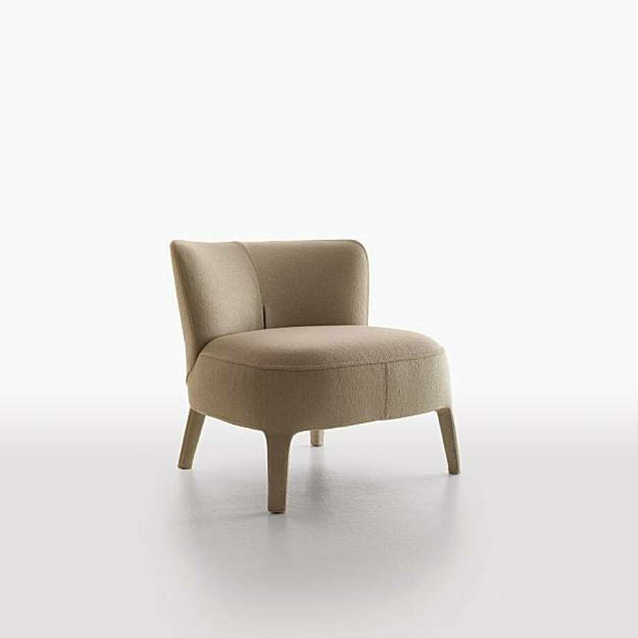 A chair from the Febo Collection, with Licata fabric. $3,380.00. Photo: B + B Italia