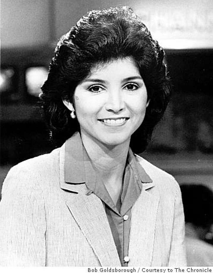 Liz Gonzales, a former newswoman and morning anchor with television station CBS 5-TV (KPIX) in San Francisco, died of cancer on Wednesday. She was 51. Gonzales was an Emmy-winning reporter who worked for the station about eight years before leaving in 1992 after the birth of her first child. This picture of her was taken in 1990. Photo: Bob Goldsborough, Courtesy To The Chronicle