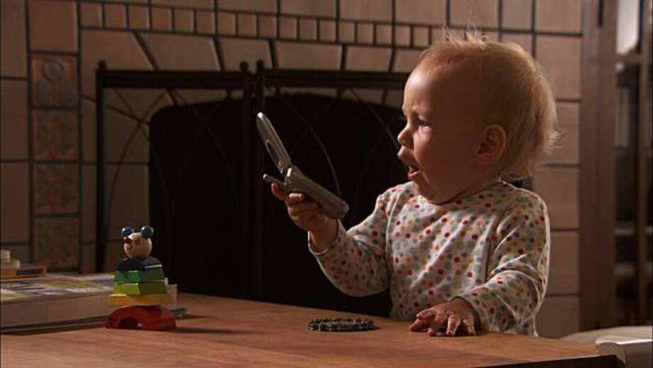 Hattie, who lives in the United States with her family, is one of four babies followed from birth to first steps in Thomas Balms' BABIES, a Focus Features release. Photo: Focus Features