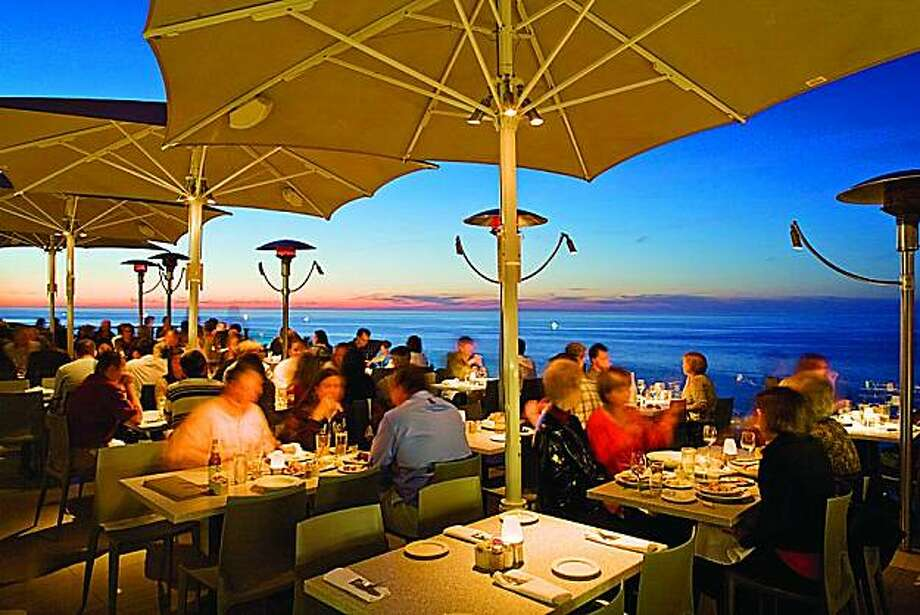This is a view of the Ocean Terrace at Georges at the Cove in La Jolla Photo: Courtesy Of Georges