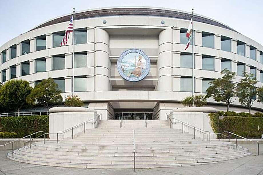 505 Van Ness Ave., which houses the state Public Utilities Commission, is one of 11 buildings the state has put up for sale to reduce the budget deficit. Photo: Courtesy, Department Of General Services