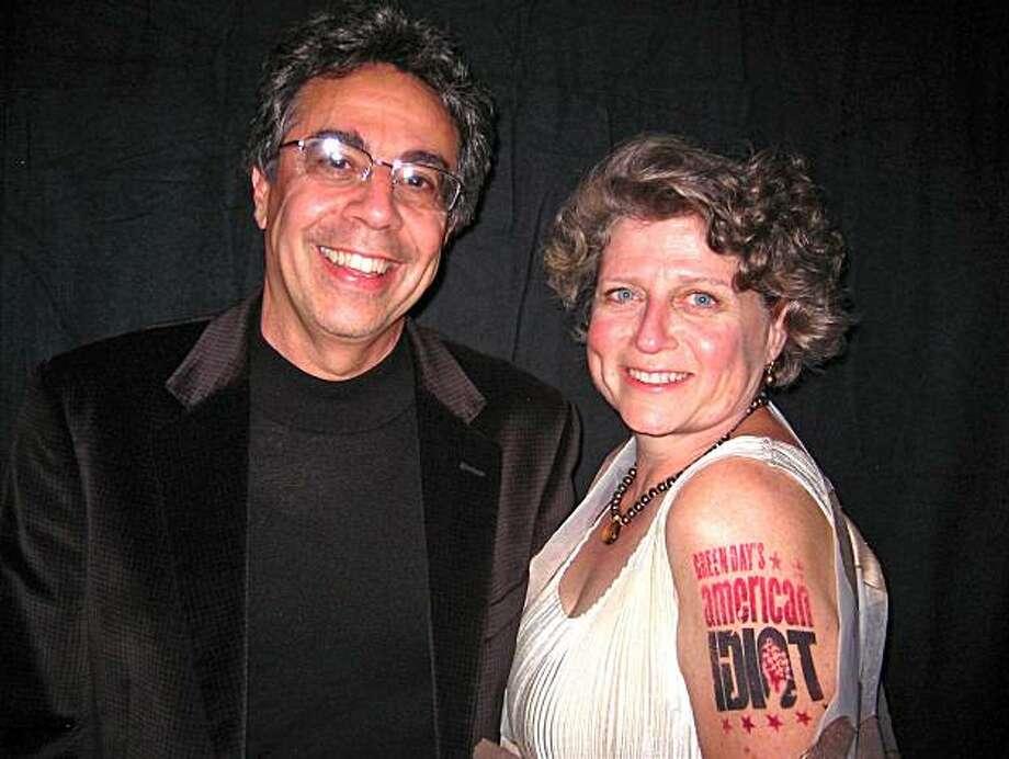 Berkeley Rep Artisti Director Tony Taccone and Berkeley Rep Managing Director Susie Medak at the Berkeley Rep Gala. April 2010. Photo: Catherine Bigelow, Special To The Chronicle