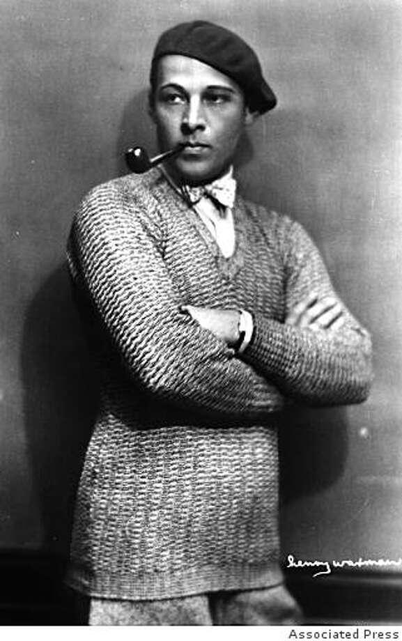 Rudolph Valentino Photo: Associated Press