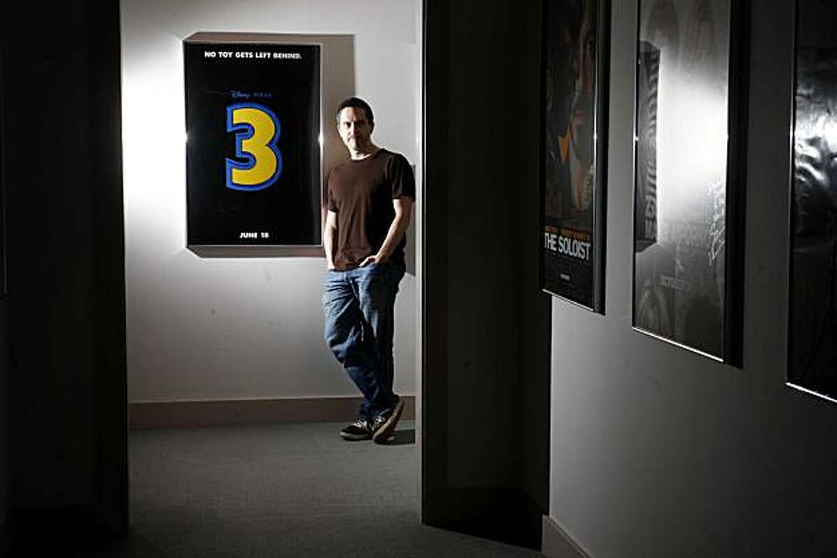 Just weeks before his four year efforts on Toy Story 3 are revealed in theaters, Lee Unkrich, director of the animated movie, stands for a portrait at Skywalker Ranch on Thursday April 15, 2010 in Nicasio, Calif.